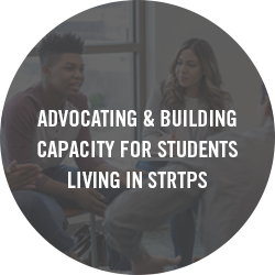 Support for students living in Short-Term Residential Therapeutic Programs