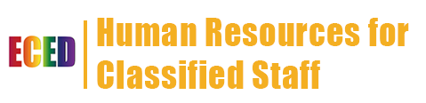 eced human resources classified