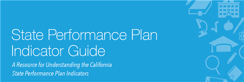 Front Cover of State Performance Plan Indicator Guide