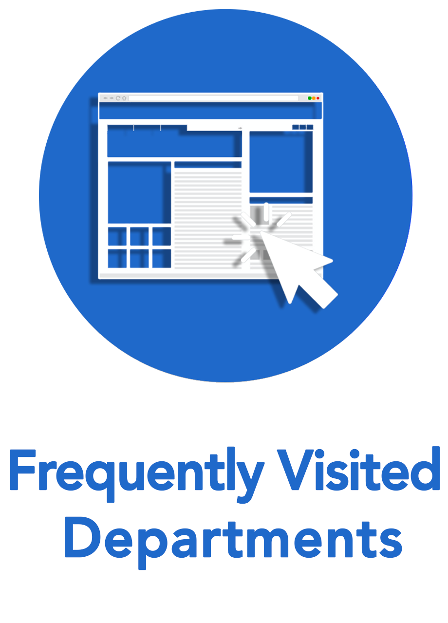 Frequently Visited Departments