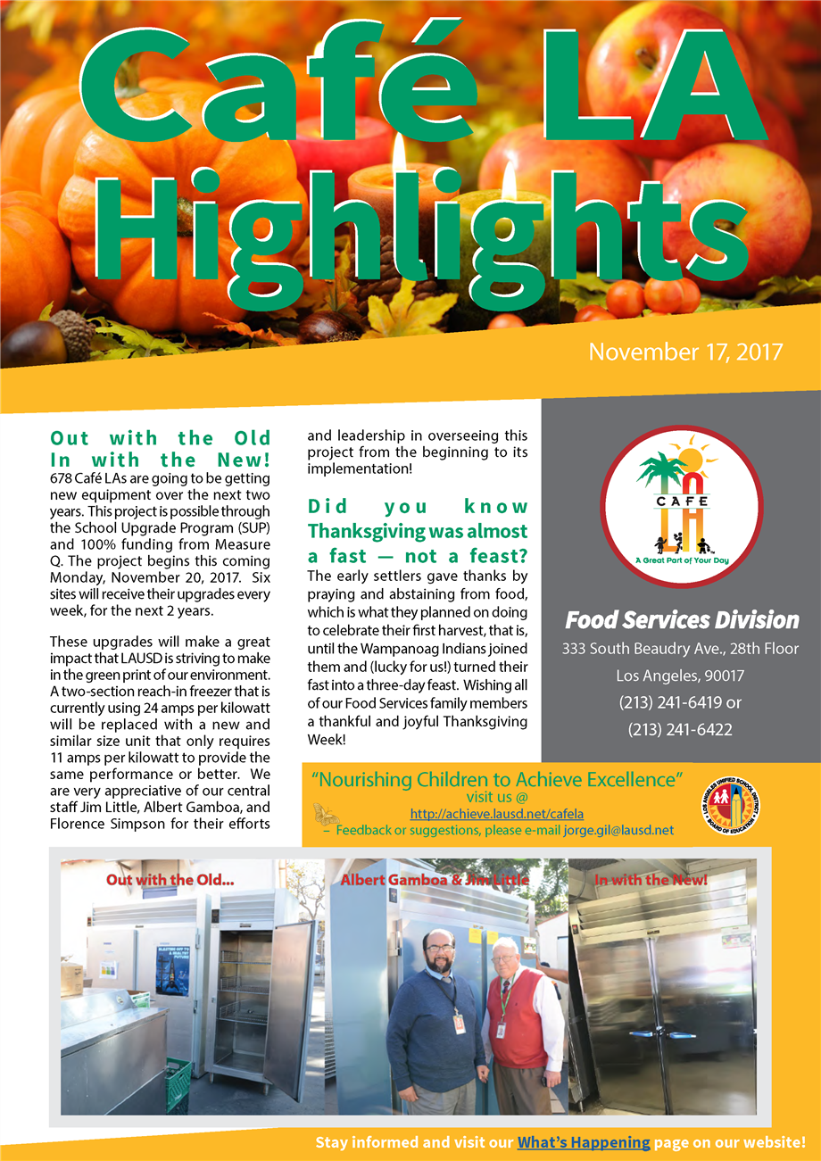 Highlights - November 17, 2017
