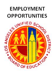 Employment Opps LAUSD