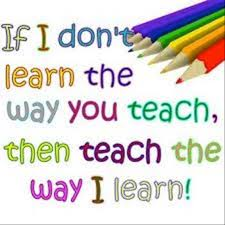 if I don't learn..