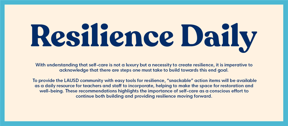 Resilience Daily