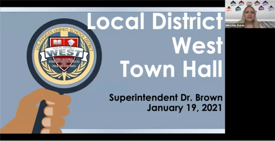 LD West Town Hall Meeting