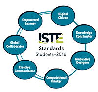 ISTE Standards for Student Logo