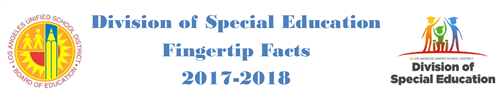 Division of Special Education Fingertip Facts 2017-2018
