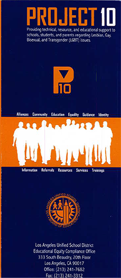 Project 10 Brochure