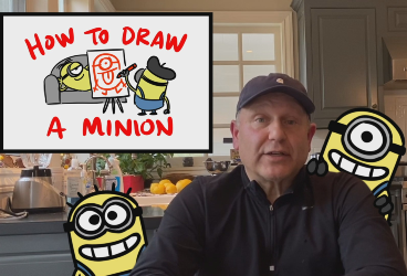 How to Draw a Minion: An animation lesson thanks to Chris Meledandri and the Illumination team