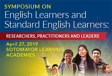Symposium on English Learners and Standard English Learners