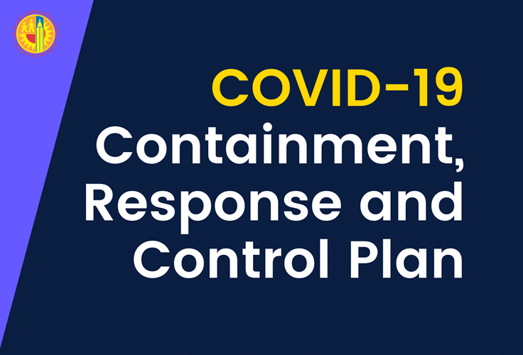 Download COVID-19 Containment, Response and Control Plan