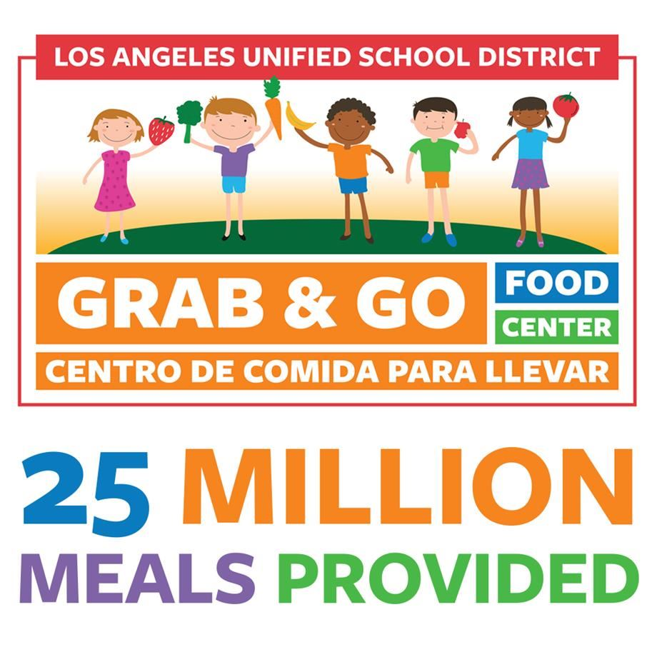Los Angeles Unified Crosses 25 Million Meal Milestone In Country's Largest Food Relief Effort (05-28-20)