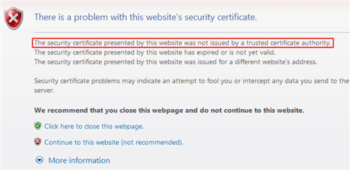 ALL: Install the new LAUSD Root Certificate