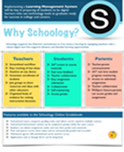 Schoology Flyer Icon