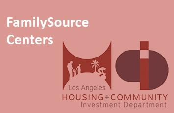 FamilySource Centers - LA Housing + Community Investment Department