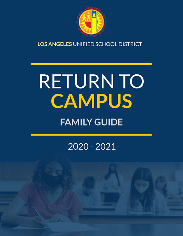 Return to Campus Family Guide (graphic)